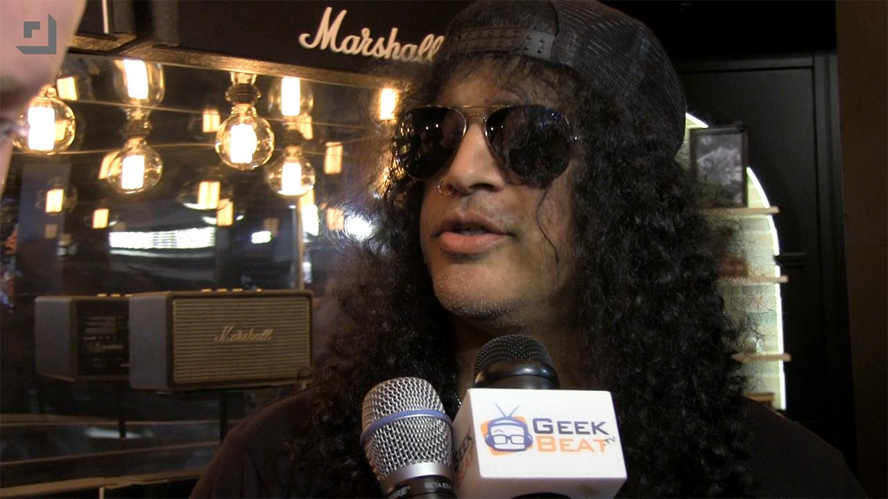 Slash of Guns N' Roses - Interview