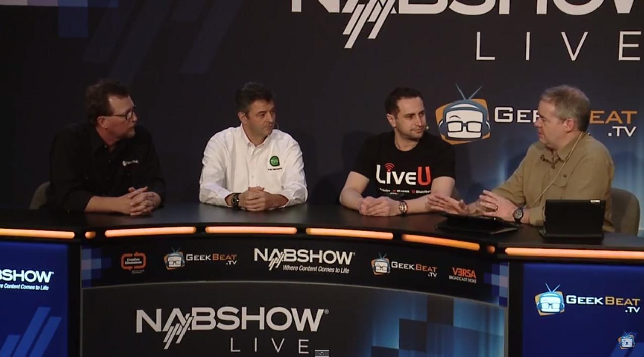 Live Streaming Panel with Alex Lindsay, LiveU, TVU, & NewTek